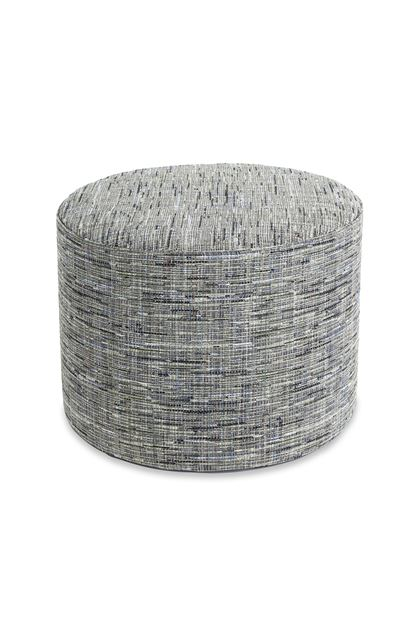 MISSONI HOME YAKIMA CYLINDER POUF Black E - Back