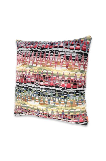 MISSONI HOME YALATA CUSHION Light purple E - Back