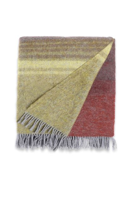 MISSONI HOME YOSHI THROW Maroon E - Back