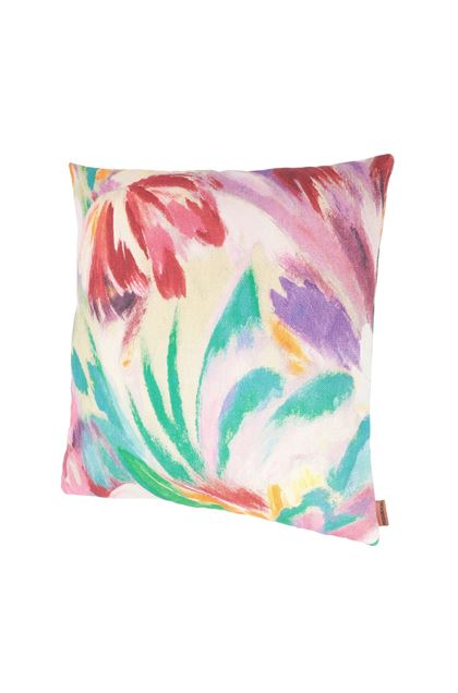 MISSONI HOME YOKOHAMA CUSHION Green E - Back