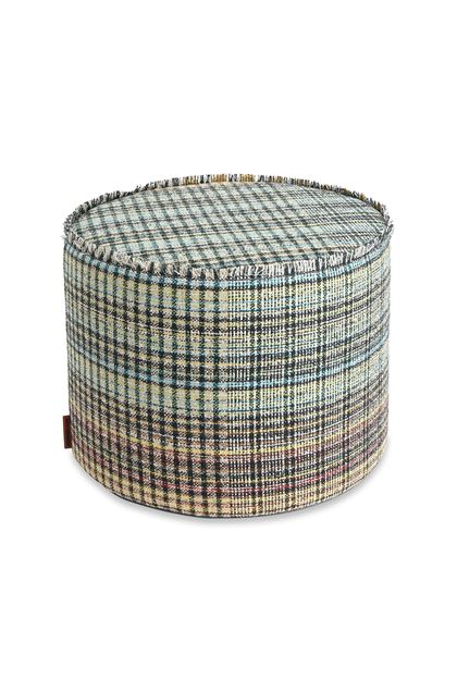 MISSONI HOME YORKSHIRE CYLINDER POUF Black E - Back