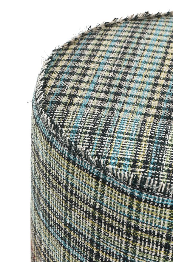 MISSONI HOME YORKSHIRE CYLINDER POUF E, Rear view
