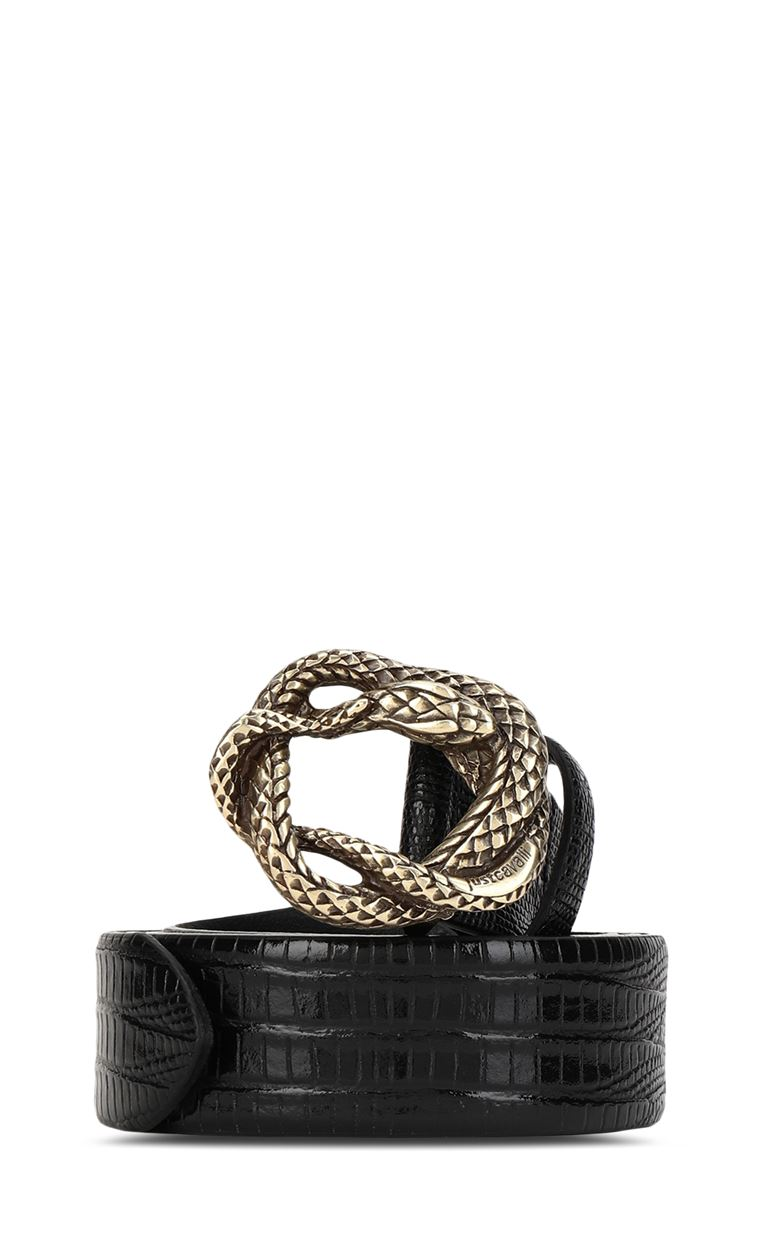JUST CAVALLI Snake buckle belt Belt Man f