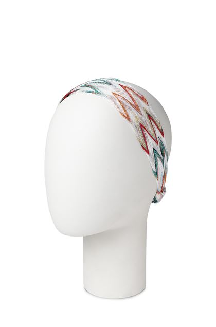 MISSONI KIDS Girls' Headband  White Woman - Front