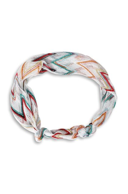 MISSONI KIDS Girls' Headband  White Woman - Back