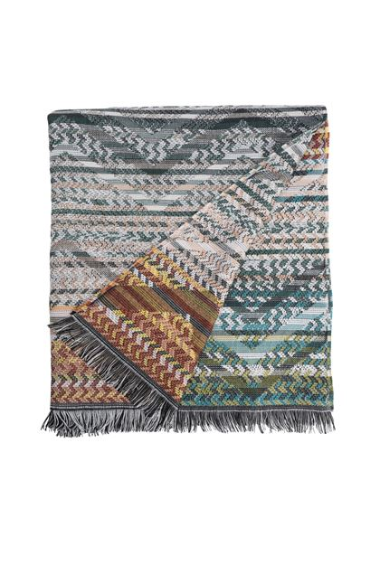 MISSONI HOME YANNOULIS THROW Green E - Back