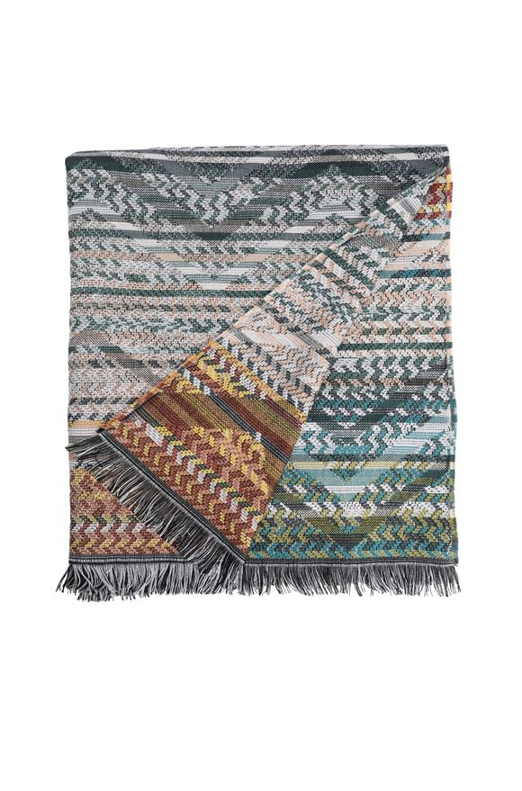 MISSONI HOME YANNOULIS THROW E, Frontal view