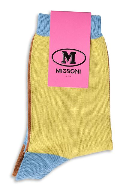 M MISSONI Short socks Yellow Woman - Front