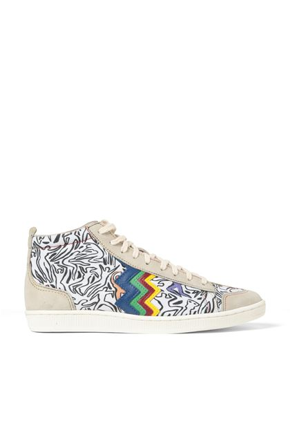 M MISSONI Sneakers Beige Woman - Back