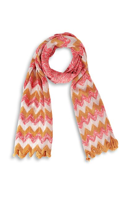 M MISSONI Scarf Orange Woman - Back