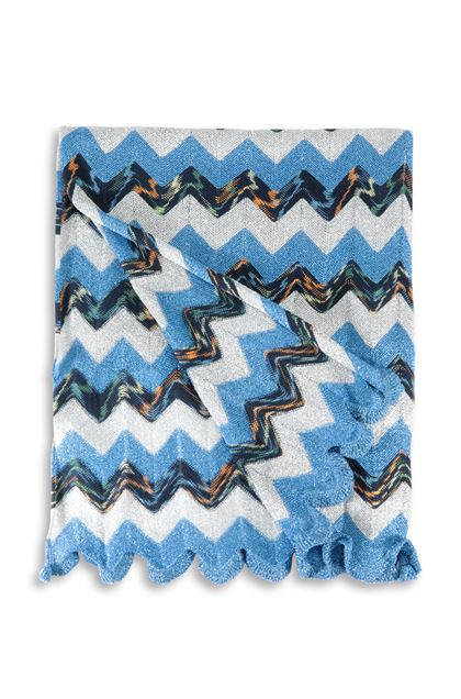 M MISSONI Scarf Blue Woman - Front