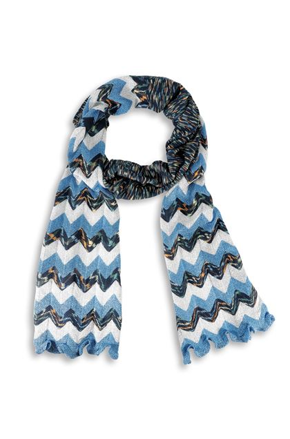 M MISSONI Scarf Blue Woman - Back