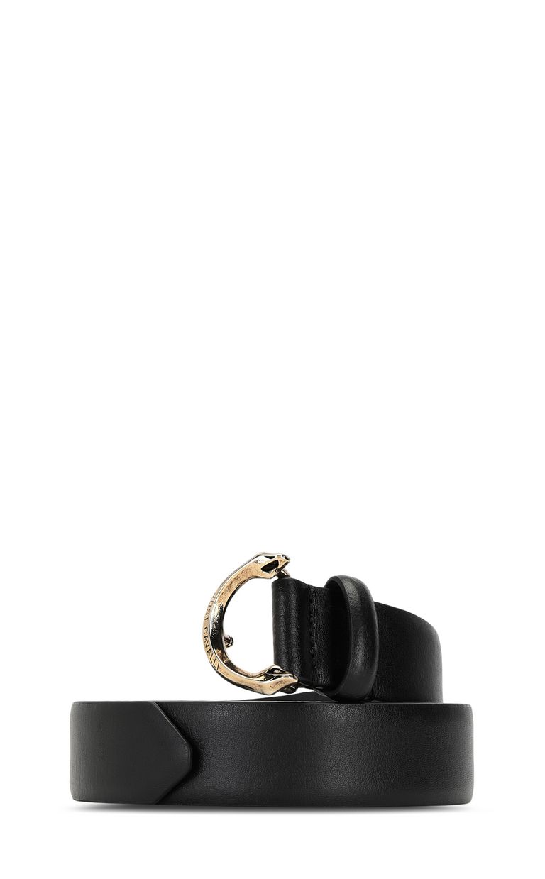 JUST CAVALLI Belt with snake-shaped buckle Belt Woman f
