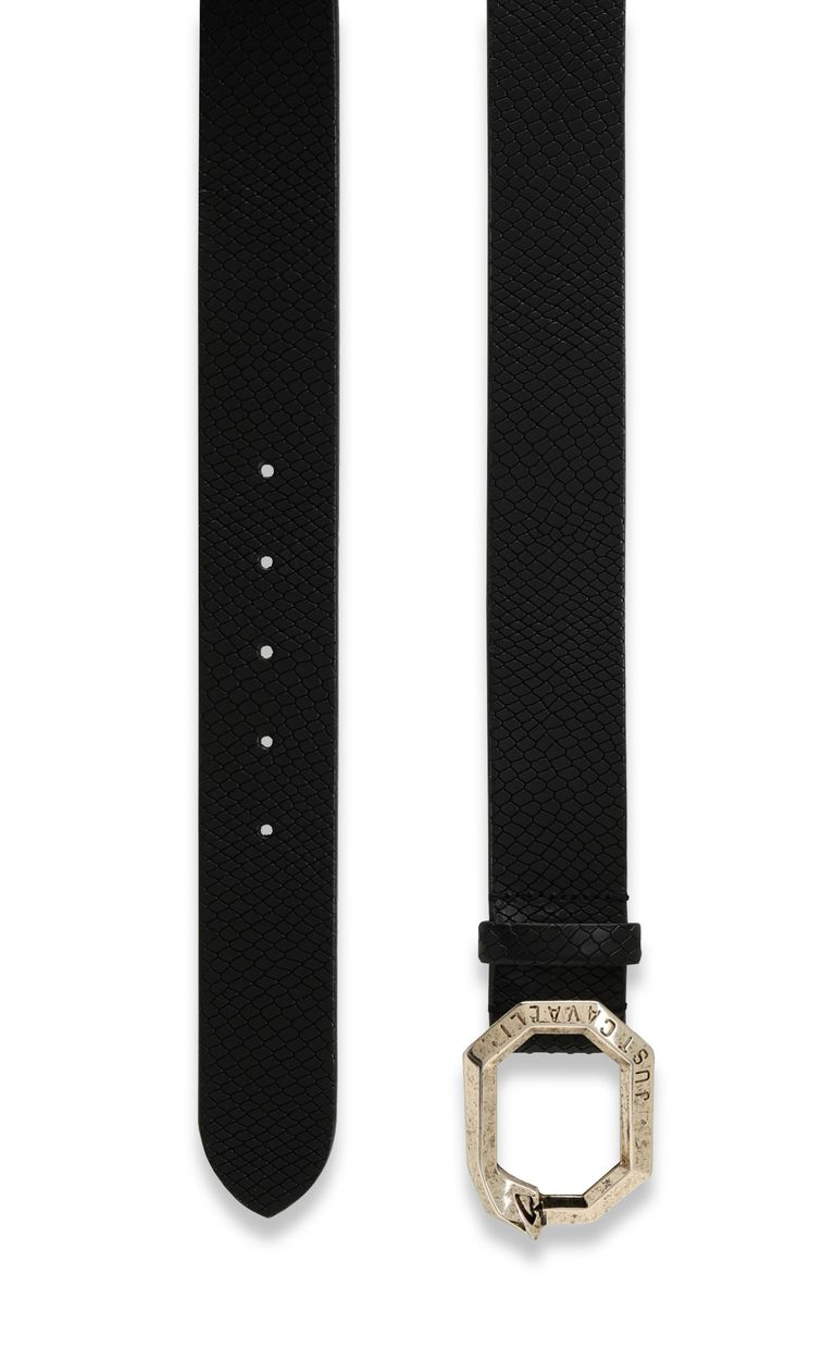 JUST CAVALLI Belt with snake buckle Belt Woman d