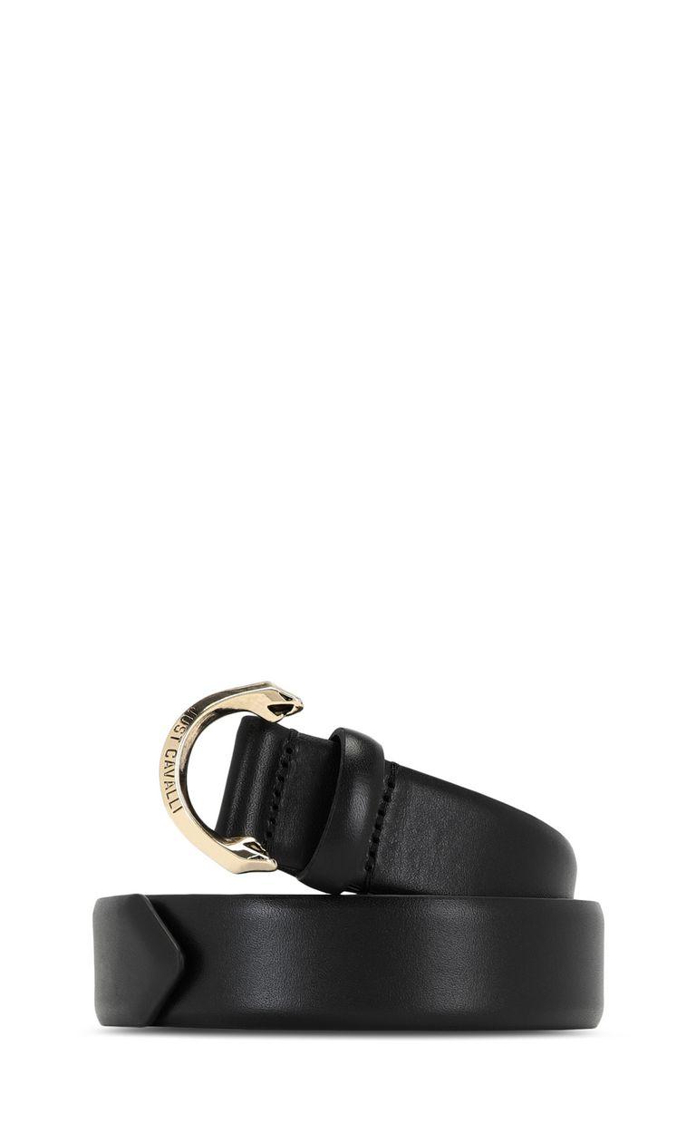 JUST CAVALLI Belt with snake buckle Belt Man f