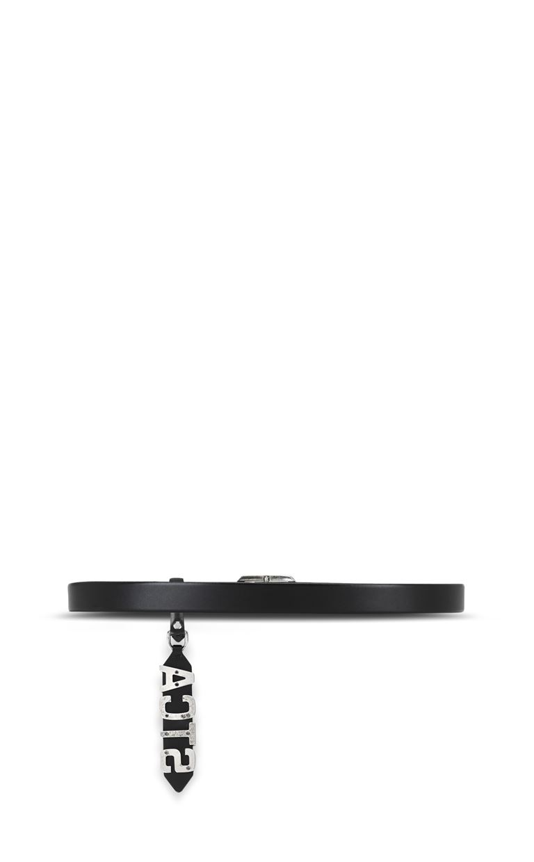 JUST CAVALLI Belt with STCA logo Belt Man e