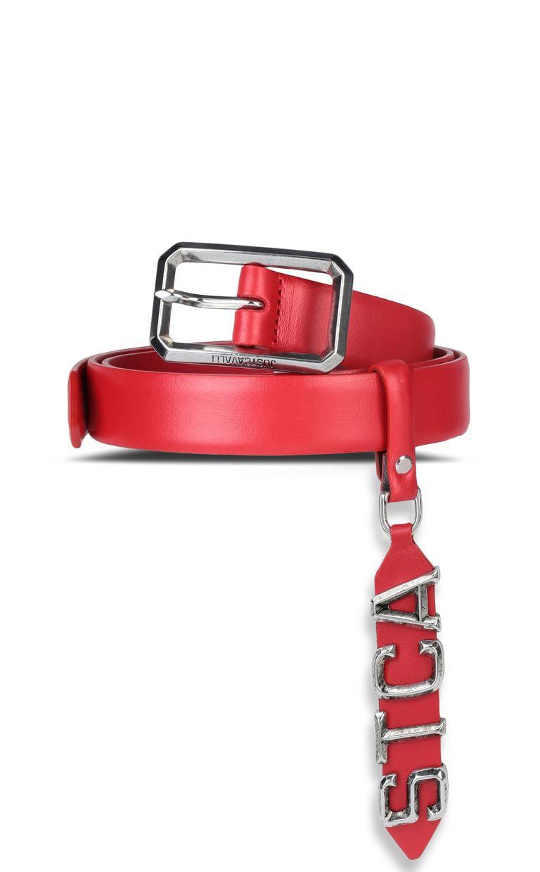 JUST CAVALLI Belt with STCA logo Belt Woman f