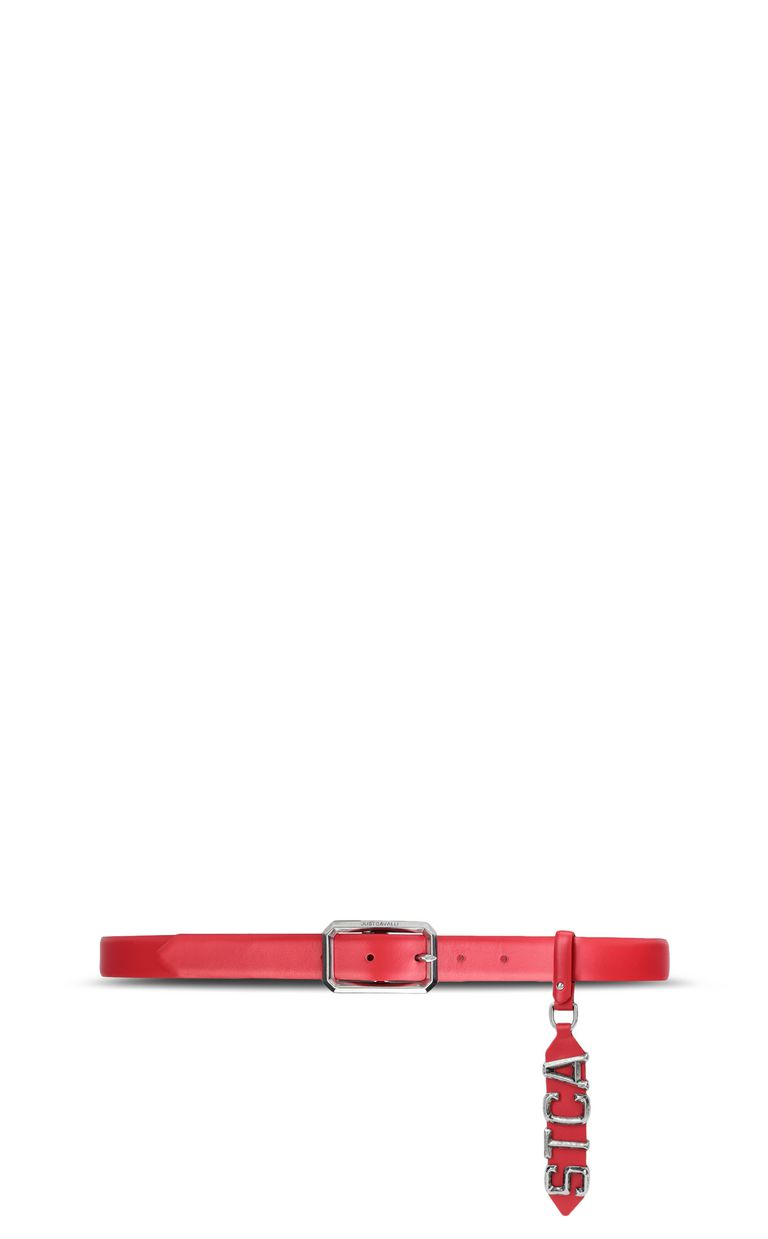 JUST CAVALLI Belt with STCA logo Belt Woman r