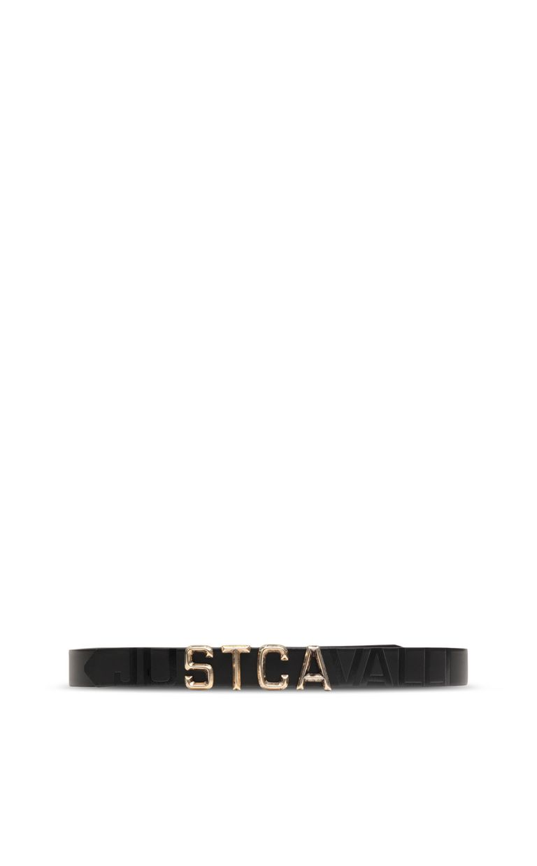 JUST CAVALLI Belt with STCA logo Belt Man r