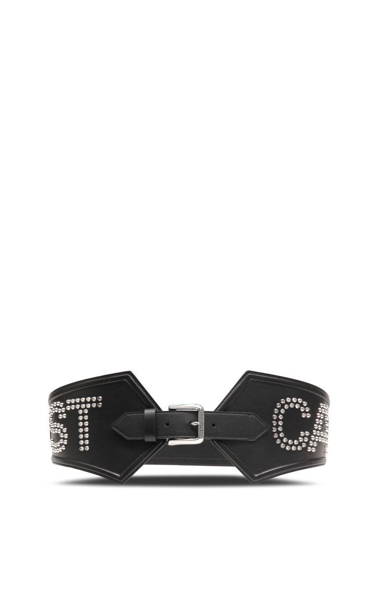 JUST CAVALLI Maxi belt with STCA logo Belt Woman r