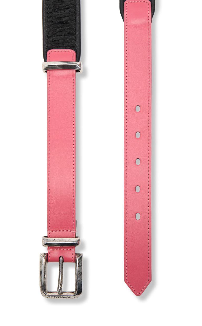 JUST CAVALLI Belt with logo Belt Woman d