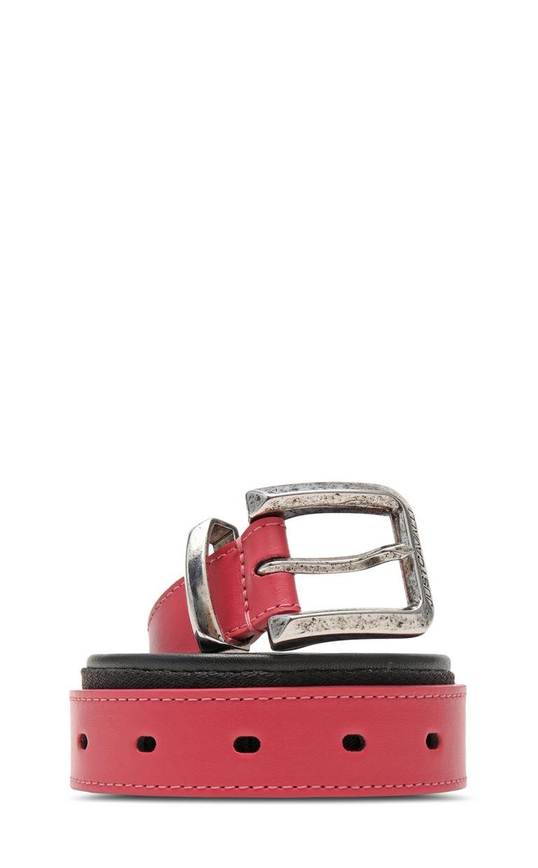 JUST CAVALLI Belt with logo Belt Woman f