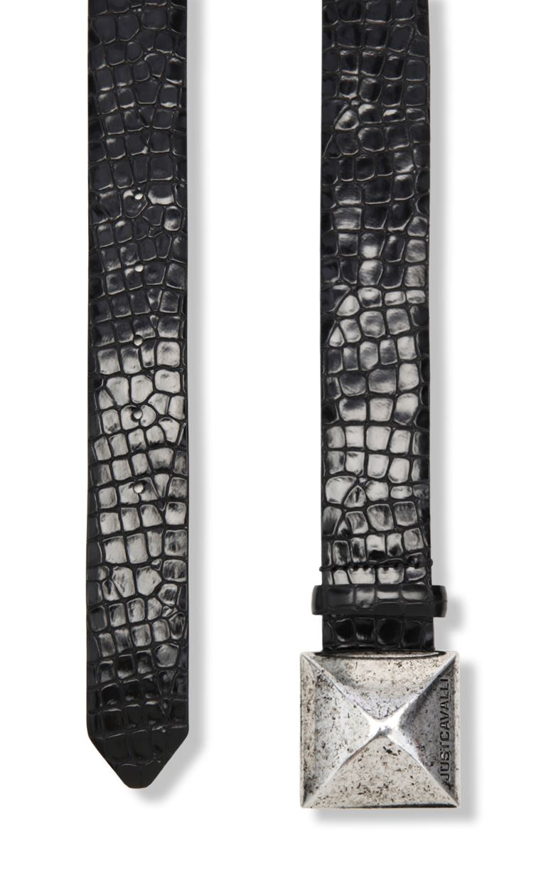 JUST CAVALLI Crocodile-skin-effect belt Belt Woman d
