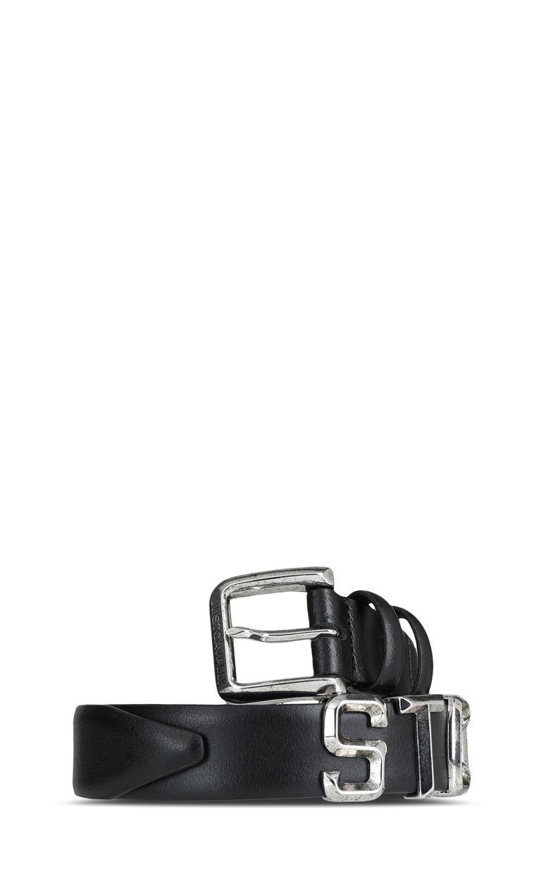JUST CAVALLI Belt with STCA lettering Belt Man f