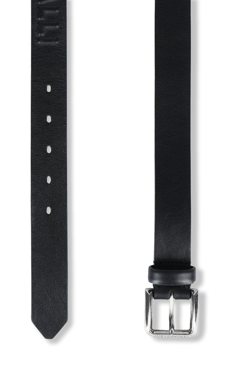 JUST CAVALLI Belt with logo Belt Man d