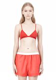 T by ALEXANDER WANG LUX PONTE TRIANGLE BRA TOP Adult 8_n_e