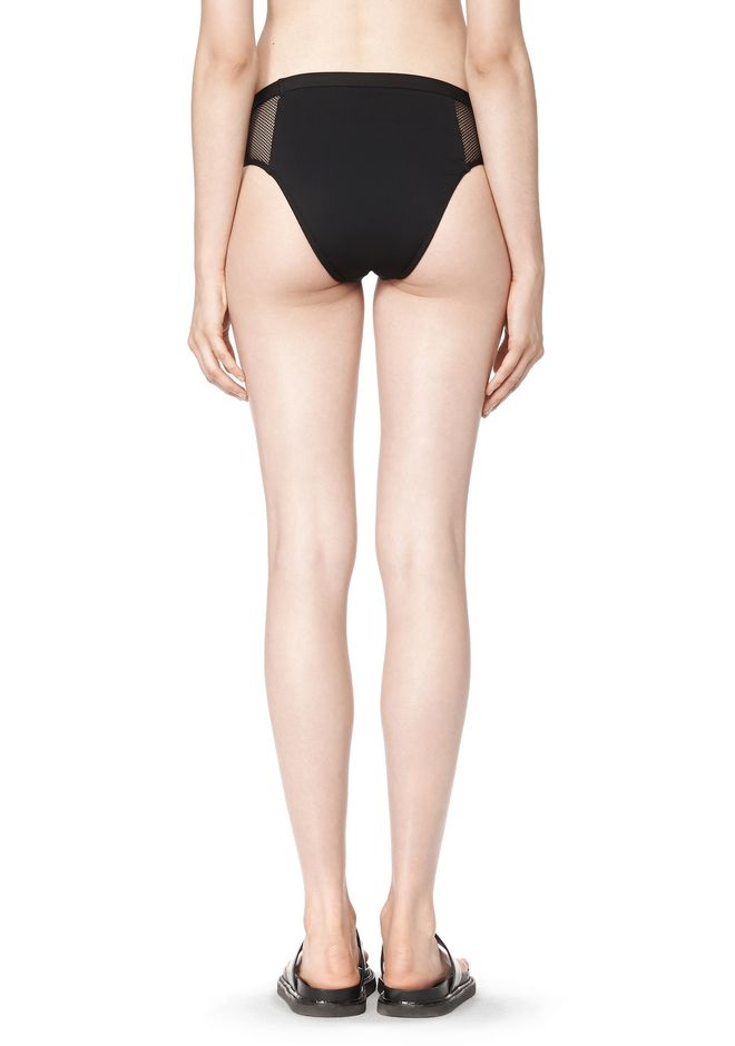 T by ALEXANDER WANG MESH COMBO BIKINI BRIEFS Swimwear Adult 12_n_a
