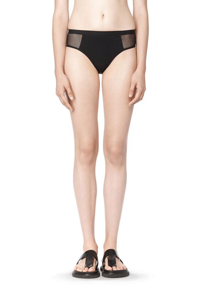T by ALEXANDER WANG MESH COMBO BIKINI BRIEFS Swimwear Adult 12_n_e