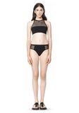 T by ALEXANDER WANG MESH COMBO BIKINI BRIEFS Swimwear Adult 8_n_f