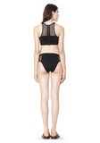 T by ALEXANDER WANG MESH COMBO BIKINI BRIEFS Swimwear Adult 8_n_r