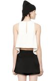 T by ALEXANDER WANG POLY CREPE TANK TOP  TOP Adult 8_n_d