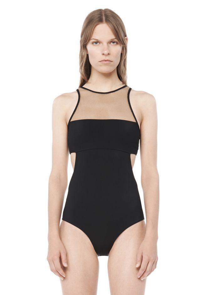 MESH COMBO ONE PIECE SWIMSUIT | Swimwear