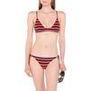 STELLA McCARTNEY Flame stripe scooped triangle bikini top  Bikinis D r