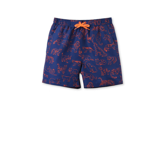 Taylor Cat Print Swim Shorts