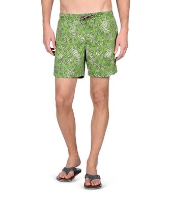 NAPAPIJRI VAIL MAN SWIMMING TRUNKS,ACID GREEN
