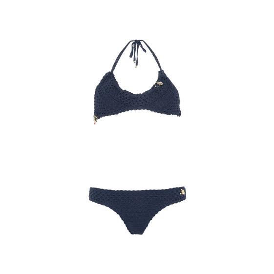 Bikini Crochet Blu Navy