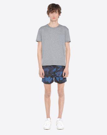 VALENTINO UOMO SWIMSUITS U Camouflage-print swimsuit r