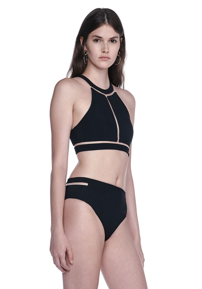ALEXANDER WANG FISH LINE SWIMSUIT TOP  Swimwear Adult 12_n_a