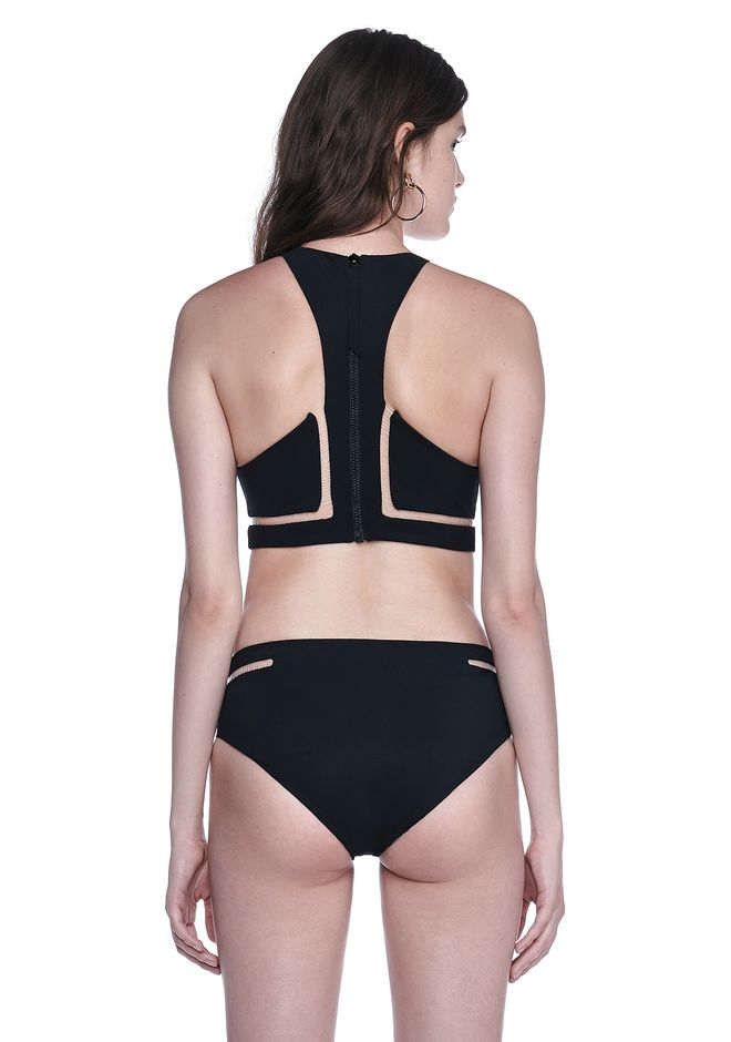 ALEXANDER WANG Fish Line Swimsuit Top