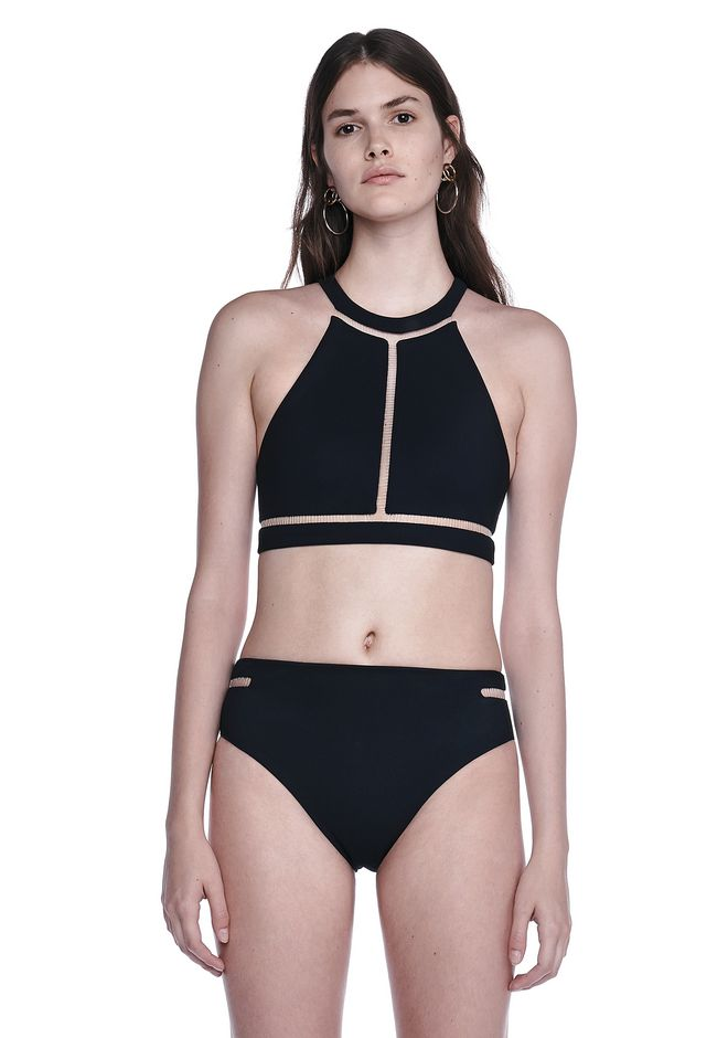 ALEXANDER WANG FISH LINE SWIMSUIT TOP  Swimwear Adult 12_n_e