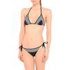 STELLA McCARTNEY Black printed triangle bikini top  Bikinis D r