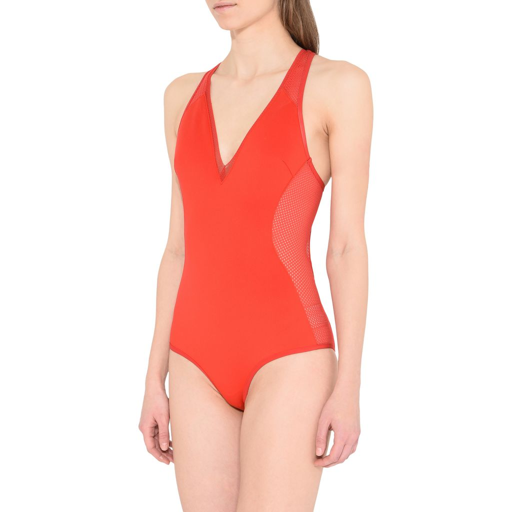 Red Classic Swimsuit - STELLA MCCARTNEY