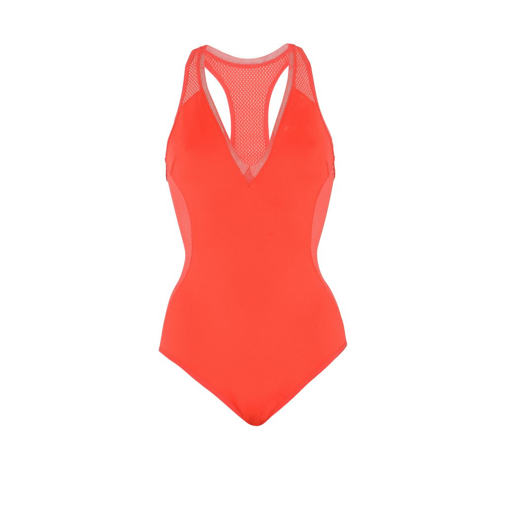 Red Classic Swimsuit - STELLA MCCARTNEY