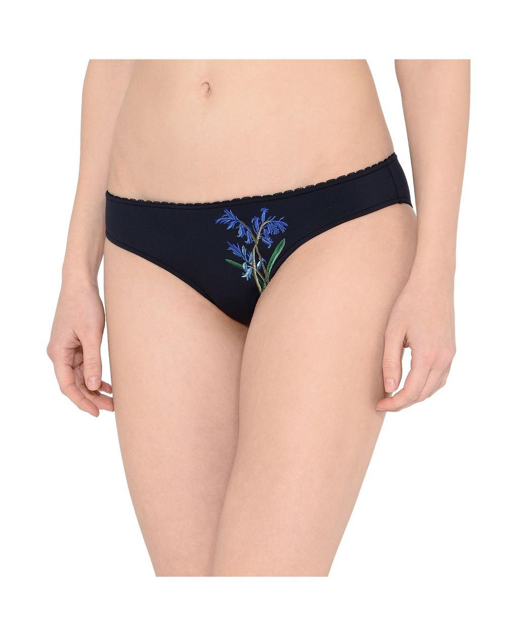 Botanical Embroidered Bikini Bottoms - STELLA MCCARTNEY