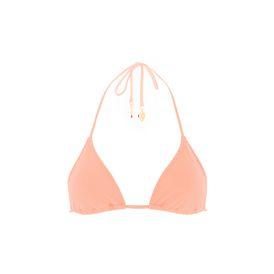 STELLA McCARTNEY Bikinis D Faded Coral Triangle Bikini Top f