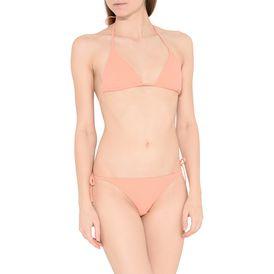 Faded Coral Triangle Bikini Top
